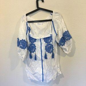 Line & Dot Dresses - Line & Dot 'Beaux' embellishment mini dress